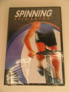 NEW Spinning Spin & Burn Indoor Cycling DVD  Sealed