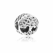 New! Authentic PANDORA Family Roots Charm #797590 Sterling Silver S925 ALE