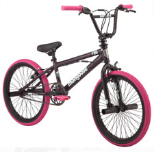 Mongoose FSG BMX Bike 20-inch Wheels Single Speed Black / Pink