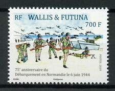 More details for wallis & futuna military stamps 2019 mnh wwii ww2 d-day world war ii 1v set