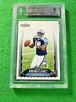 VINCE YOUNG BCCG MINT 9 Graded CARD JERSEY #10 TENNESSEE TITANS 2006 SCORE #340