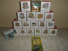19pc Liberty Falls Americana Collection Frontier Buildings