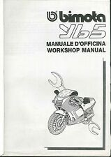 COPIA MANUALE OFFICINA BIMOTA YB5 WORKSHOP MANUAL COPY ( ITA ENG )