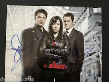 Torchwood Cast 11x14 Autograph Signed Photo JSA John Barrowman Eve Myles Garath