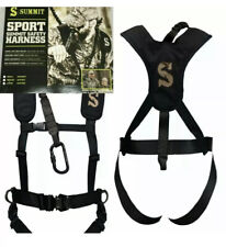 Summit Sport Harness Large Ladder Stand Safety Harness Treestand Portable New