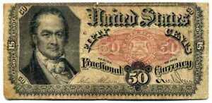 (25) 50 Cents ÉTATS-UNIS D'AMÉRIQUE 1875 ( TB a TTB )