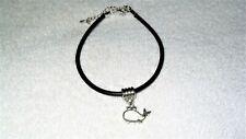 Wrist Bracelet Jewelry Fashion Accessory Cute Silhouette Whale Ocean Swim Ankle