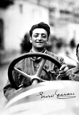 Young Racer Enzo Ferrari Legend  Poster Print