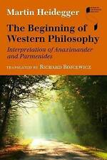 The Beginning of Western Philosophy, Martin Heidegger