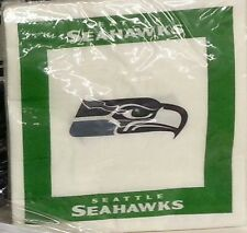 NFL 48 Team Napkins, Seattle Seahawks, NEW
