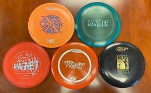 Rare Discraft Lot - 5 Disc Wasp Magnet Zombee XClone Stratus OOP PFN PAT# Innova