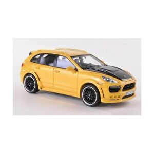 ✨NEO SCALE MODELS HAMANN GUARDIAN YELLOW/CARBON 2011 1:43