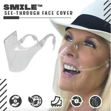2020 Smile Transparent Face Protector