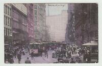 Broadway, New York City, NY, Pre-Linen  Postcard