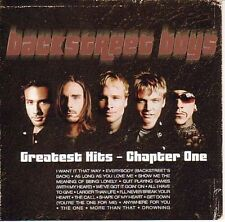 Backstreet Boys Greatest Hits Chapter One CD 16 Track European Jive 2001
