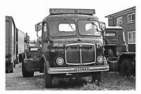 pt6780 - AEC Mercury 633 RKX in the yard of Smith, Leighton Buzzard - photograph