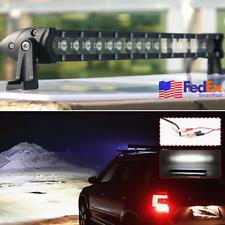 32'' 300W 30000LM LED Spot+Flood Light Bar Offroad Car Truck Accessories US Ship
