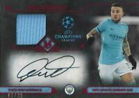 2017-18 Topps UEFA Champions League Museum Collection Auto Relic /25 Ruby