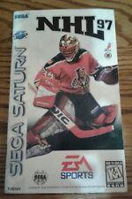 NHL 97 Sega Saturn Manual