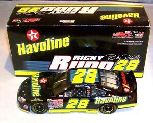 1:24 ACTION RCCA CLUB CAR 2002 #28 HAVOLINE TEXACO RYR FORD RICKY RUDD 1/804 MIB