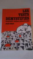 Les tests démystifiés - Jean Gobet - Aubier Montaigne (1985)