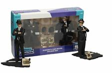 THE BLUES BROTHERS JAKE & ELWOOD MOVIE ICONS FIGURES STATUE 2 PACK SD TOYS 18cm