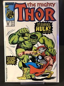 THE MIGHTY THOR # 385 ~INCREDIBLE HULK BATTLE~ 9.4 (RC)