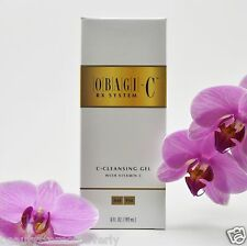 Obagi-C Rx C-Cleansing Gel with Vitamin C - 6oz/180mL - NEW - FAST SHIPPING