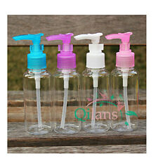 TRAVEL 4PCS 100ML Plastic dispencer bottel Atomizer Pump Liquid Dispenser, SOAP