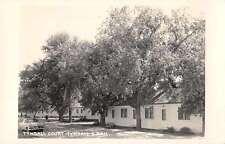 Tyndall South Dakota Tyndall Court Real Photo Antique Postcard J45066