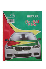 GUYANA COUNTRY FLAG CAR HOOD COVER .. HIGH QUALITY ..  NEW