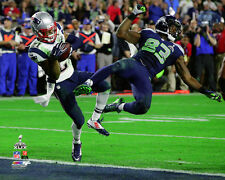 Malcolm Butler Super Bowl XLIX LICENSED Historic Interception Photo Patriots