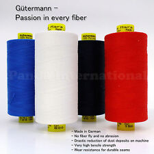 4 Spools GUTERMANN Mara 120 100% POLYESTER Reg THREAD 1094 yard/spool, 4 choices