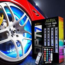 OPT7 All-Colour Wheel Well LED Light Kit 4pc Custom Accent Neon Strips Rims Tire