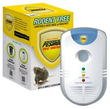 Pestrol Rodent Ultrasonic Rat Mouse Electromagnetic Ionic Pest Repeller