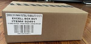 2018 Panini Absolute Football Mega 20 BOX CASE Sealed 1 Auto &Mem RC: Josh Allen
