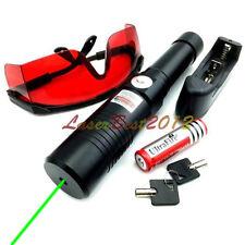 GX6 532nm Adjustable Focus Green Laser Pointer Laser Torch & charger & glasses