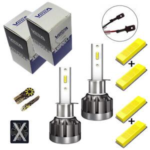 Kit Vega® Q6 FULL LED CSP 2 ampoules H1 360° 8000 lumens Couleur Xénon 6000K