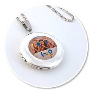 H20 **Just Add Water ** Mermaids pendant necklace Round h2o LOCKET XO