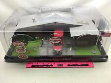 Menards ~ O Gauge Fire Station pre-built collectible building