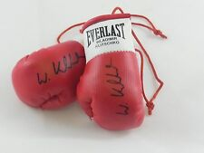 Autografiada Mini Guantes De Boxeo Vladimir Klitschko fueron nombrados