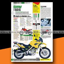 ★ BMW F 650 GS F650GS ★ Article Fiche Moto Guide Achat Occasion #a1114