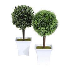 deko blumen k nstliche pflanzen mit buchsb ume f r den. Black Bedroom Furniture Sets. Home Design Ideas