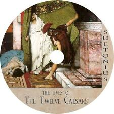 The Lives of the Twelve Caesars, Gaius Suetonius History Audiobook on 1 MP3 CD
