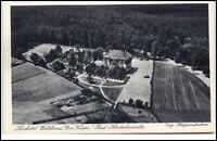 Bad Klosterlausnitz Thüringen AK 1930/40 Kurhotel Waldhaus Zur Köppe Luftbild