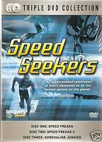 SPEED SEEKERS TRIPLE DVD COLLECTION (Extreme Machines)