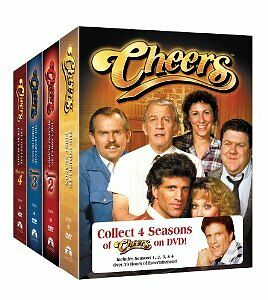 Brand New DVD Cheers - The First Four Complete Seasons 1982 Ted Danson Region 1