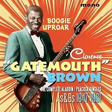 Clarence Brown Gatem - Boogie Uproar: Complete Aladdin / Peacock Singles [New CD