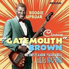 Clarence Brown Gatem - Boogie Uproar: Complete Aladdin / Peacock Singles [New CD