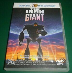 The Iron Giant DVD Region 4 VGC  - Free Post